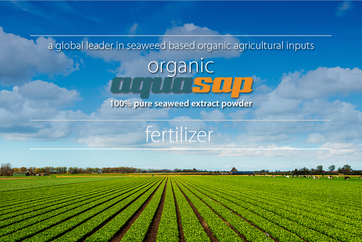 Aqusap Seaweed Fertilizer Agricultural landscape of crops and animals image